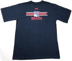 New York Rangers Shirt Men's NHL Hockey Tee Home Color Big & Tall