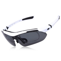 XQ-100 Polarized Sunglasses Changeable Riding Sports   white - $20.99