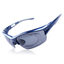 158 Chromatic Sunglasses Sports Riding Polarized Glasses    blue - $20.99