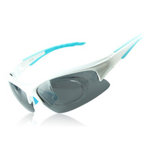 158 Chromatic Sunglasses Sports Riding Polarized Glasses    white - $20.99