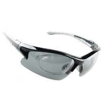 158 Chromatic Sunglasses Sports Riding Polarized Glasses    black - $20.99