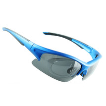 158 Chromatic Sunglasses Sports Riding Polarized Glasses    dull polish blue - $20.99