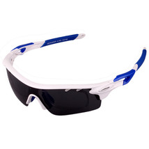 XQ-182 Glasses Suit Riding Fishing Polarized Sunglasses     bright white blue - $25.99
