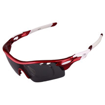 XQ-182 Glasses Suit Riding Fishing Polarized Sunglasses     car red - $25.99