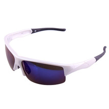 xq290 Sports Riding Fishing Sunglasses Polarized Glasses    bright white/blue - $16.99