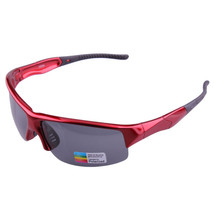xq290 Sports Riding Fishing Sunglasses Polarized Glasses    red/polarized grey - $16.99