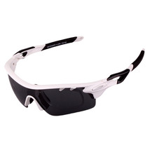 XQ-182 Glasses Suit Riding Fishing Polarized Sunglasses     bright white - $25.99
