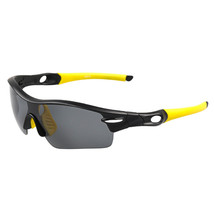 XQ-114 Riding Glasses Wind-proof Polarized Sports Sunglasses    yellow - $25.99