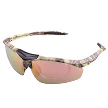 Riding Polarized Glasses Sunglasses XQ-047   beige yellow - $16.99