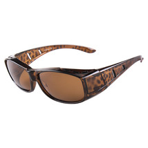 dy008 Man Sunglasses Sports Driving   tea color frame - $14.99