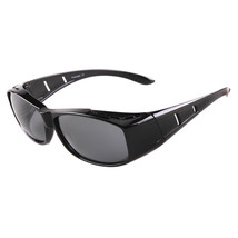 dy008 Man Sunglasses Sports Driving   black bright frame - $14.99