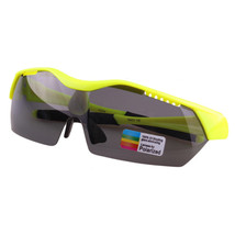 Sports Sunglasses Night Vision Riding Glasses Driving xq349   fluorescent green - $16.99