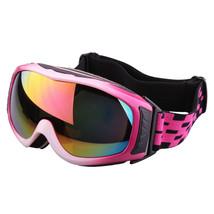 XA-031 Outdoor Sports Glasses Anti-frog Ski Goggies   white with pink - $36.99