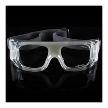 XA012 Sports Glasses Googles Basketball    transparent grey/white - $16.99