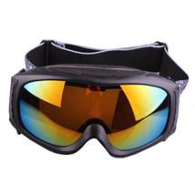 XA-031 Outdoor Sports Glasses Anti-frog Ski Goggies    black with orange - $36.99
