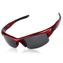 xq-179 Sports Riding Polarized Glasses Driving   red - $16.99