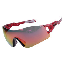 Light Riding Sports Glasses Outdoor XQ368    red - $16.99