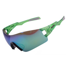 Light Riding Sports Glasses Outdoor XQ368    green - $16.99