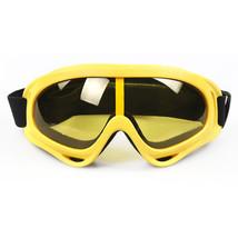 Sports Googles Glasses Riding Windproof XA-030    yellow - $18.99