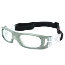 XA009 Sports Protective Football Basketball Glasses      grey/white - $18.99
