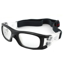 XA009 Sports Protective Football Basketball Glasses     black bright/white - $18.99