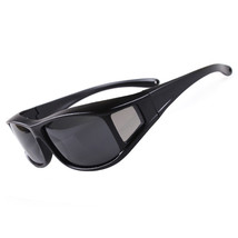 201 Myopia Polarized Glasses Sunglasses Fishing Riding Sports   black - $14.99