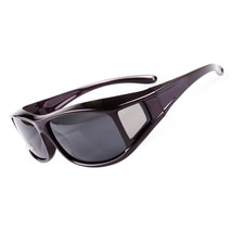 201 Myopia Polarized Glasses Sunglasses Fishing Riding Sports    dark purple - $14.99