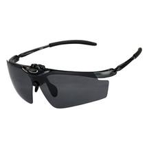 Riding Glasses Sports Driving Windproof XQ-382     black bright - $21.99