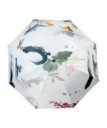 Ink and Wash Vinyl Sunscreen Umbrella    moonlight in lotus pool - $18.99
