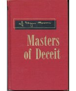 Masters of Deceit [Hardcover] [Jan 01, 1958] J. Edgar Hoover - $28.95