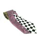 "Vintage Halston III Men's Necktie Attractive 4"" Wide 58"" Long Tie - $9.85"