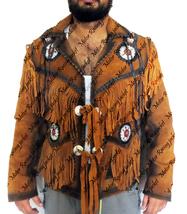 Western Suede Leather Native America TASSEL Lea... - $157.00 - $167.00