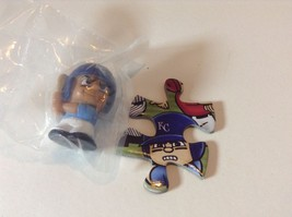 Kansas City Royals Teenymates MLB Mini Figure & Puzzle Piece - $2.00