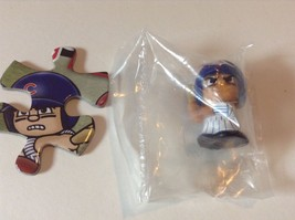 Chicago Cubs Teenymates MLB Mini Figure & Puzzle Piece - $4.00