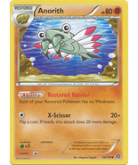 Anorith 56/114 Uncommon XY Steam Siege Pokemon Card - $0.69