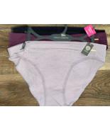 Vince Camuto ~ Womens Seamless Bikini Underwear Panties Nylon Blend 3-Pa... - $18.70