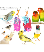 Small Bird Confetti Foraging Crocks - 2 in a pa... - $15.50
