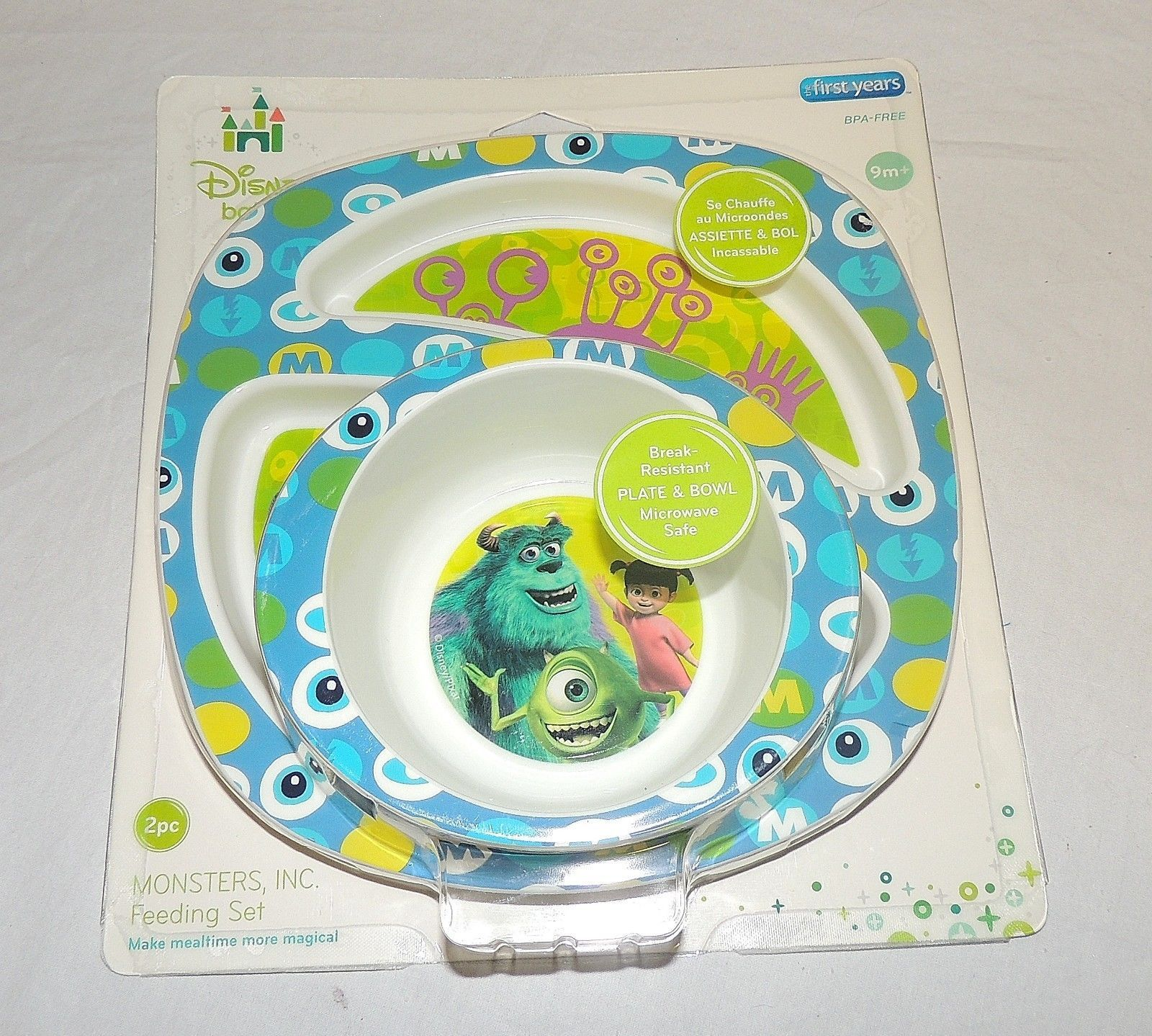 Remarkable New Disney Monsters Inc Dish Bowl Set Baby And 50 Similar Caraccident5 Cool Chair Designs And Ideas Caraccident5Info