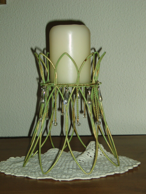 PartyLite Verdant Lights Pillar Holder Party Lite
