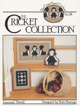 Jonas and Friends, The Cross Eyed Cricket  Cross Stitch Pattern Leaflet ... - $2.95