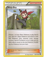 Ninja Boy 103/114 Uncommon XY Steam Siege Pokem... - $1.49