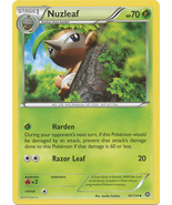 Nuzleaf 10/114 Uncommon XY Steam Siege Pokemon ... - $0.49