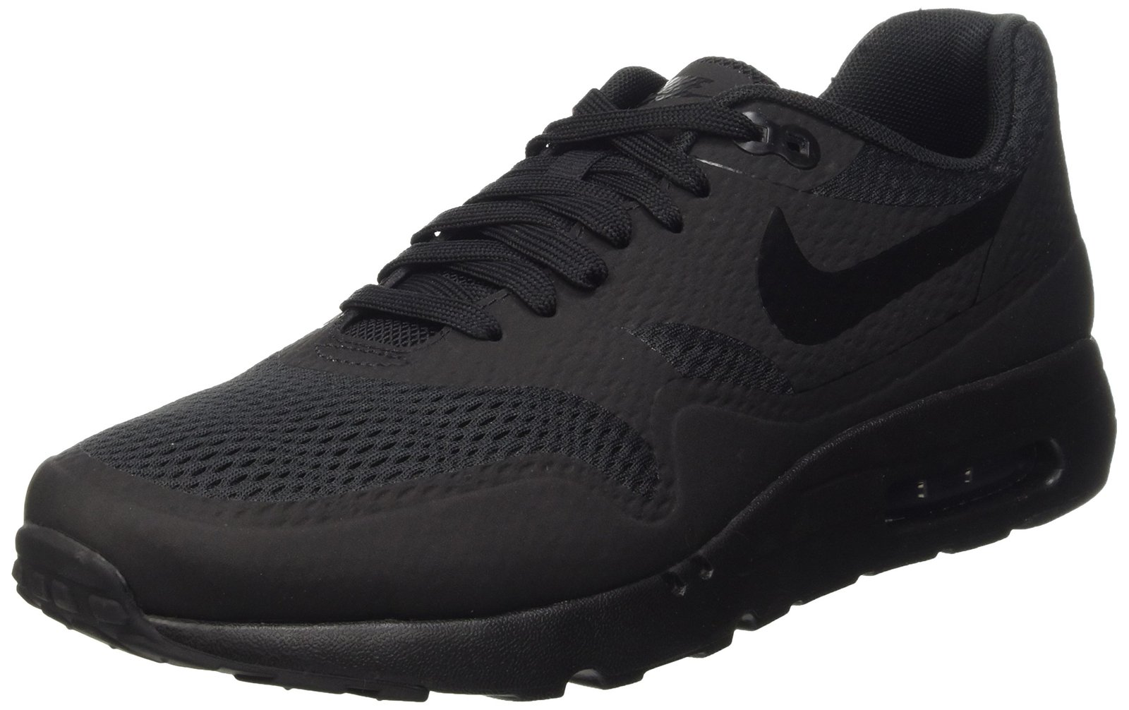 san francisco eee83 2110b Nike Men s Air Max 1 Ultra Essential Black Black Black Running Shoe 10.5  Men US