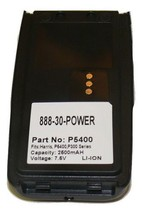 Harris P5300, P5400, P5350, P5450 Radio Battery by Tank- 18 month warranty - $47.88