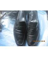 BRUNO MAGLI 'Davee' Black Horse Bit Soft Leather Moc Toe Men's Loafers,... - $55.00