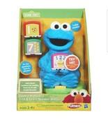 NEW! Playskool Sesame Street Cookie Monster Find & Learn Number Blocks Toy  - $93.46