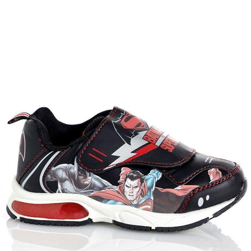 New Nwt Boys Toddler Comics Batman Light Sneakers