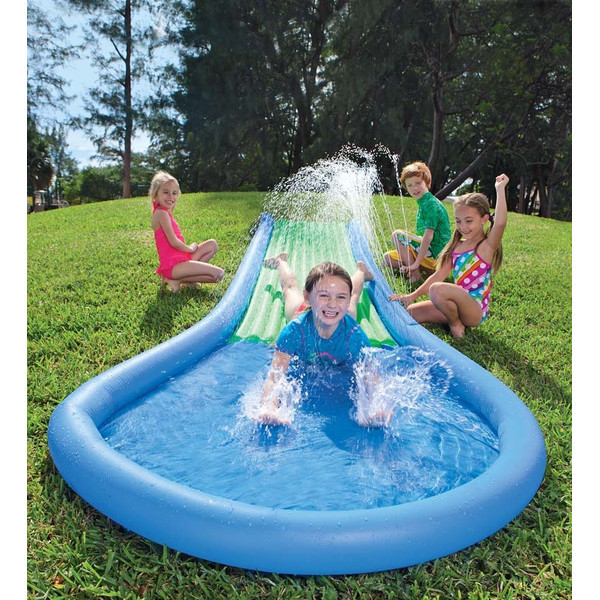 Inflatable Water Slide Birthday Party Jump Kids Child Fun ...