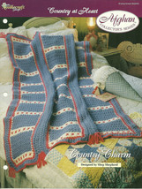 Needlecraft Shop Crochet Pattern 952240 Country Charm Afghan Collectors Series - $4.99
