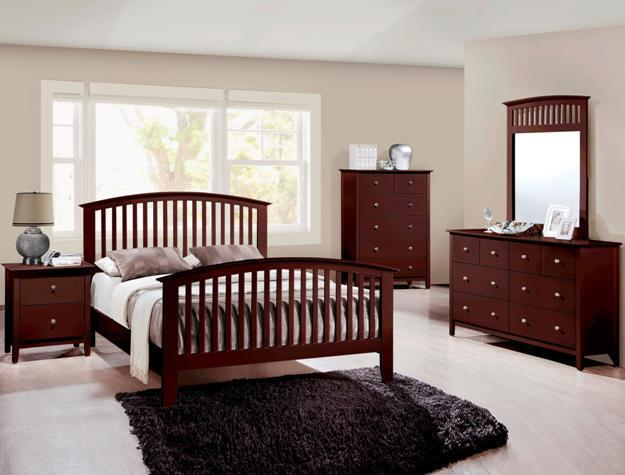 Crown Mark RB7550 Lawson Queen Size Bedroom Set Contemporary 2 Night Stands